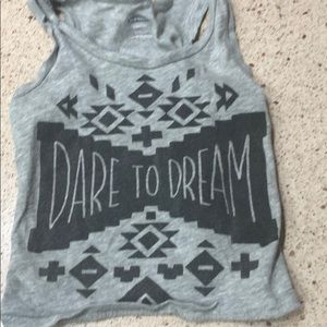 Dare to Dream girls tank